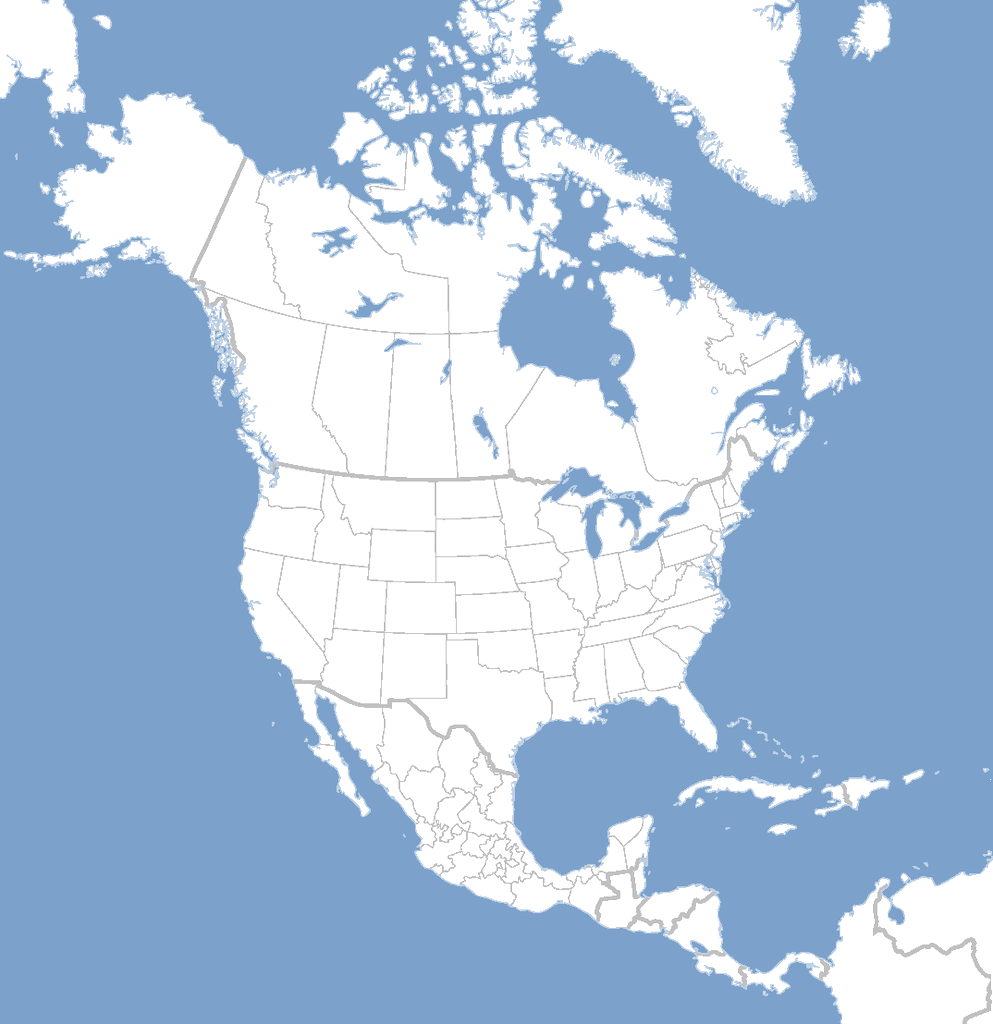 North america map png. Transparent images all file