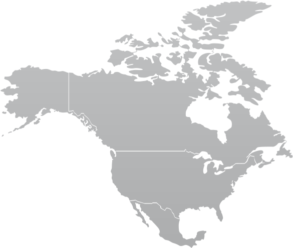 North america map png. Download continent banner transparent