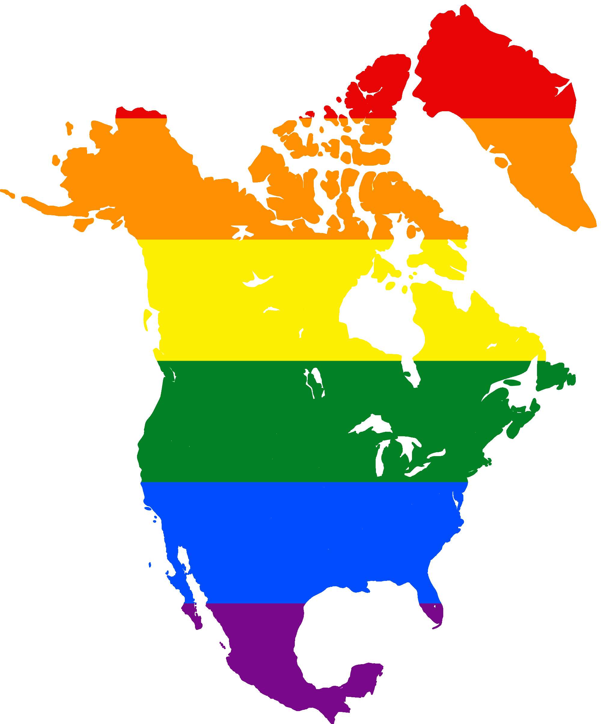 North america map png. File lgbt flag of