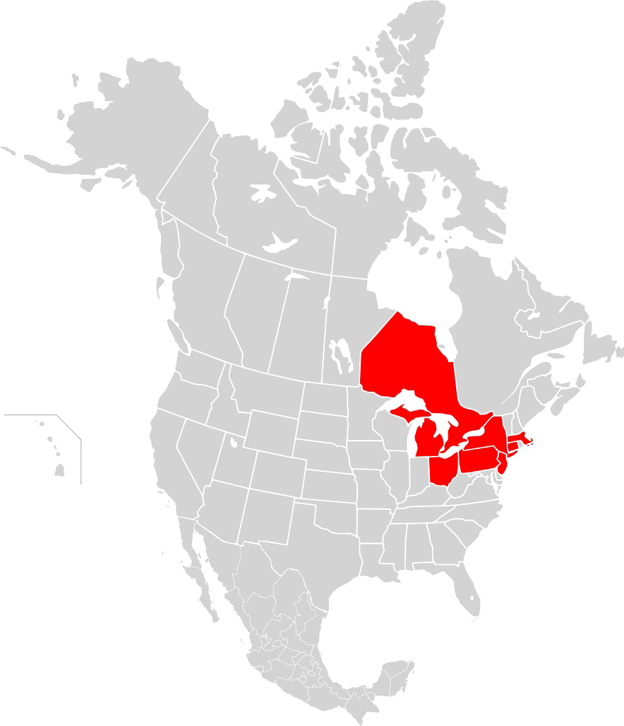 North america map png. Transparent images all free