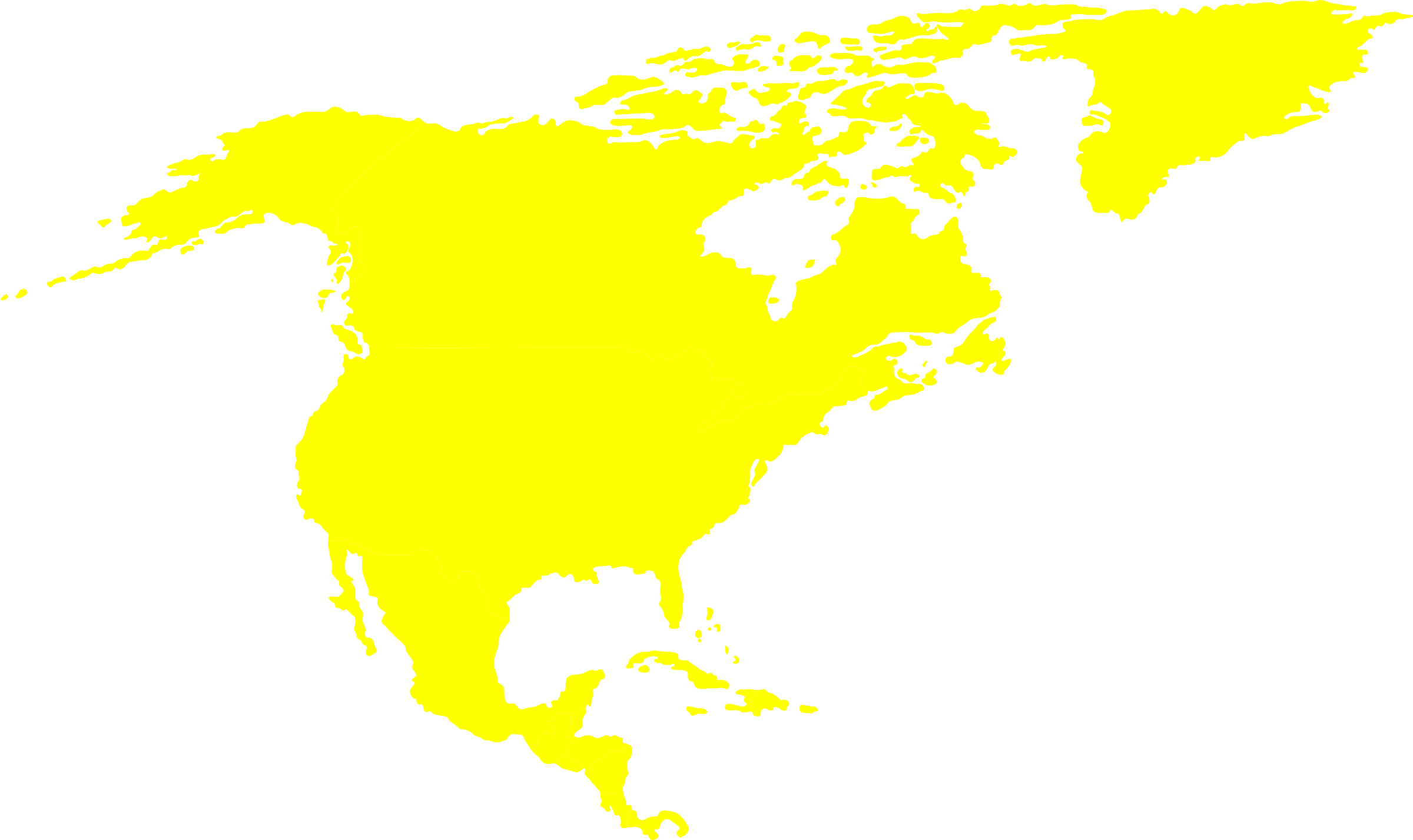 North america .png. American continent icons png