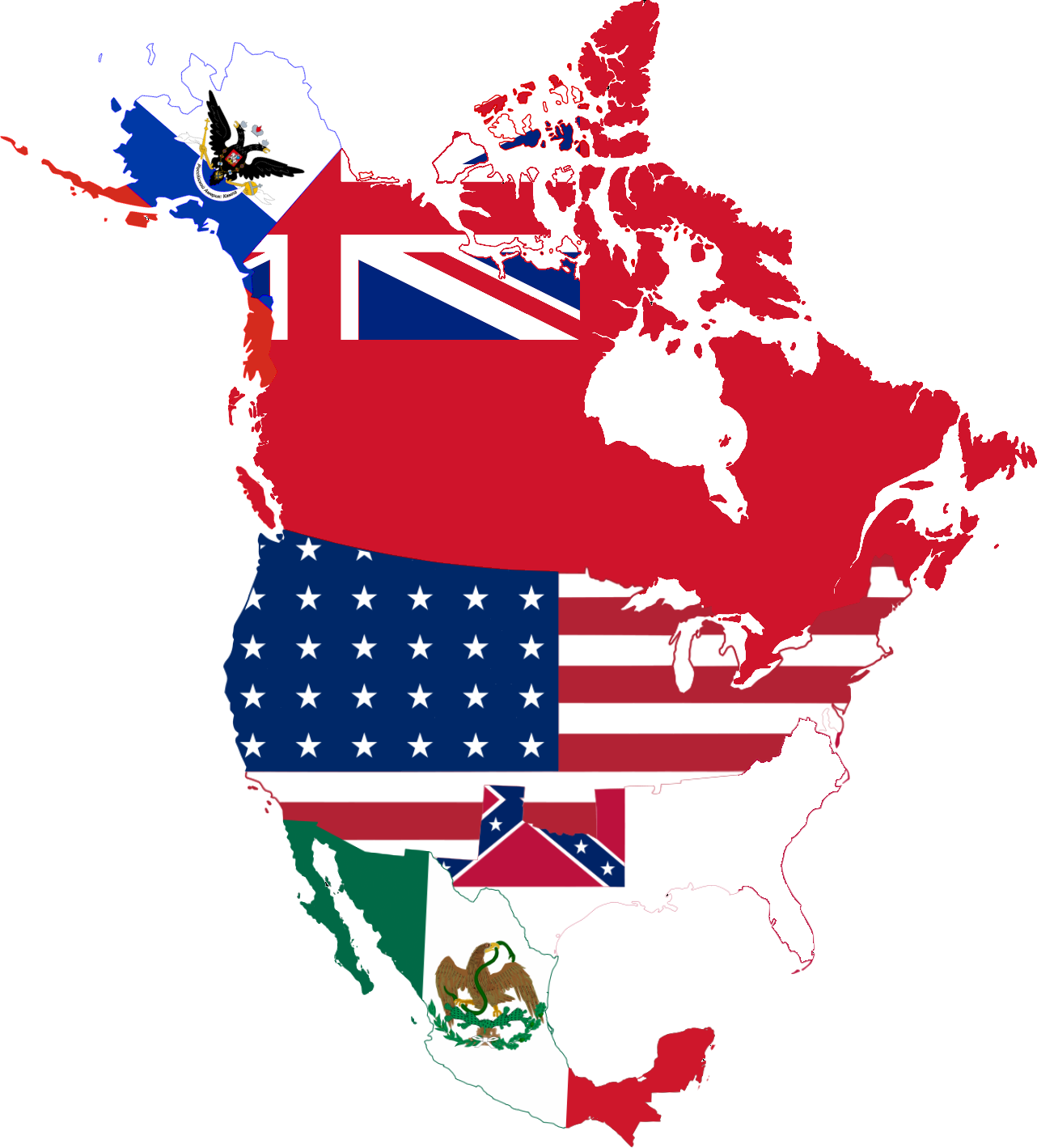 North america .png. File flag map png