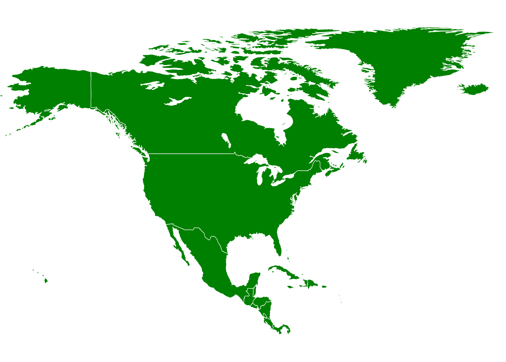 north america continent png