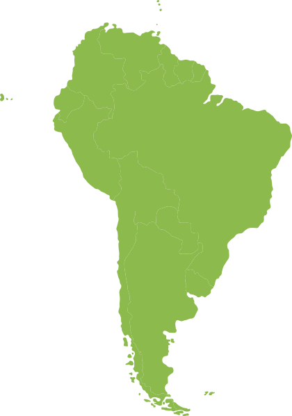 North and south america png. Continent of green clip