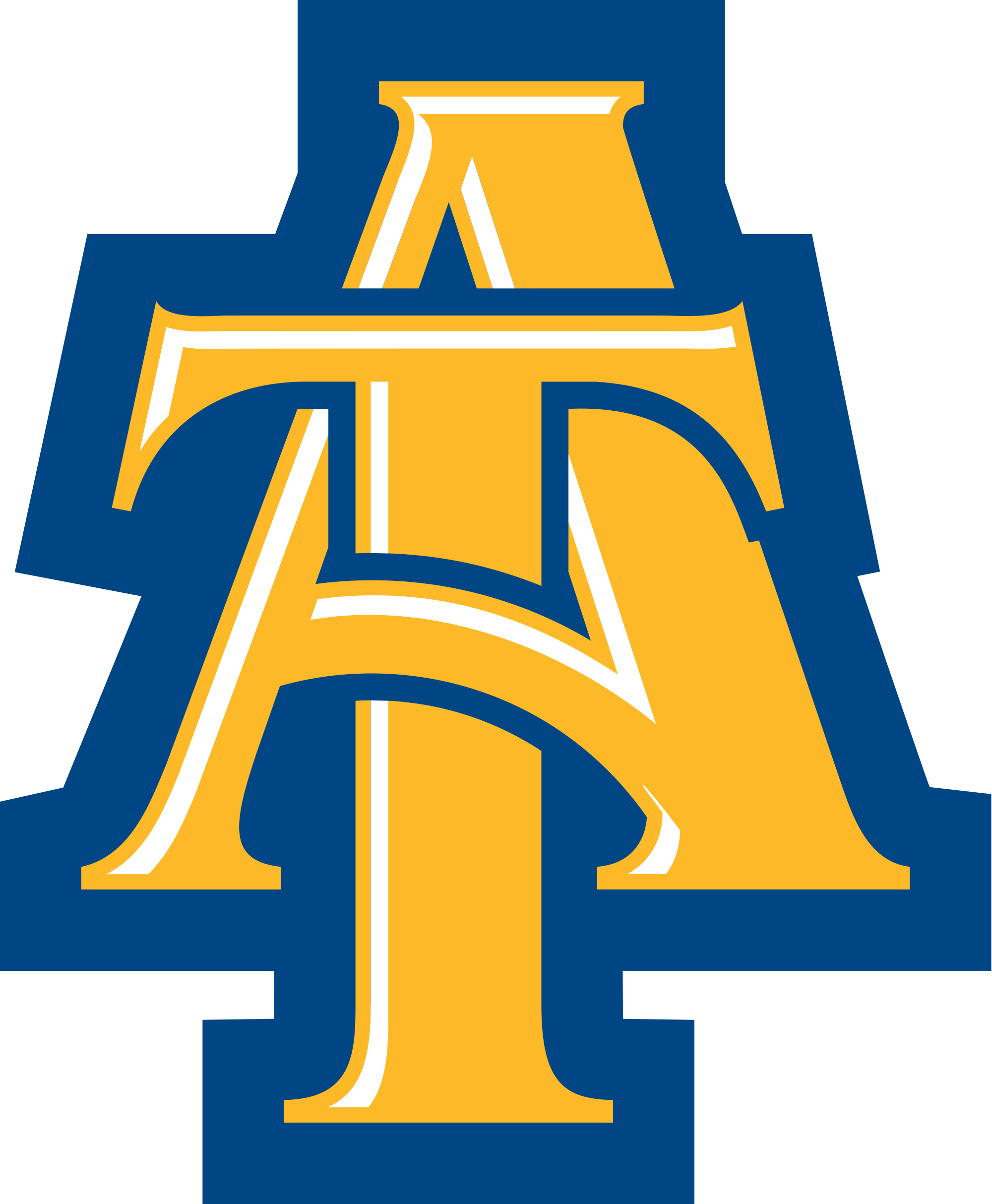 north carolina a&t state university logo png
