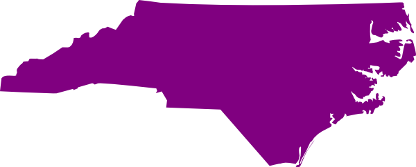 North carolina outline png. Nc state purple clip