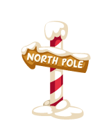 North pole clipart sign post. Shop clip art library