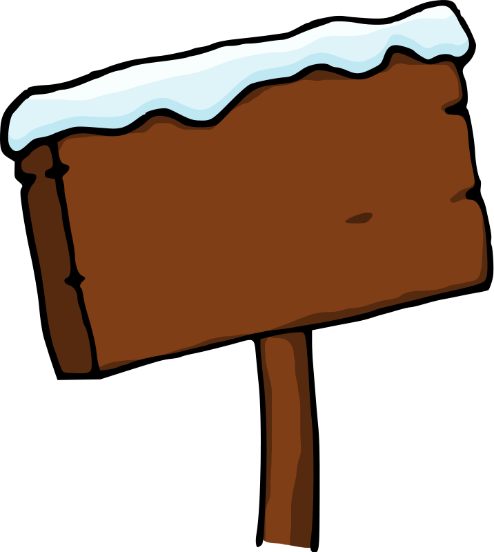 North pole clipart sign post. Free download clip art