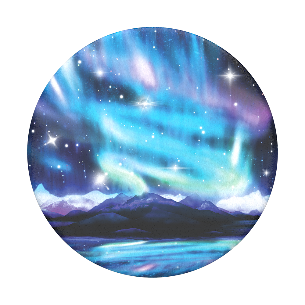 Northern lights png. Popsockets popgrip