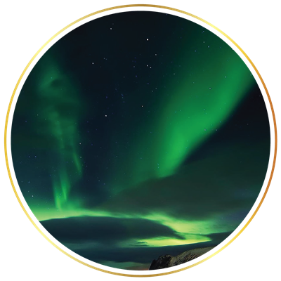 Northern lights png. Cruise sea trips reykjav