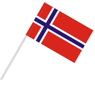 Norway flag png. With flagpole tunnel buyflags