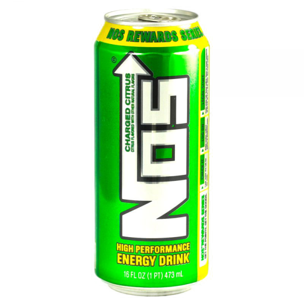 Nos drink png. Energy charged citrus ml