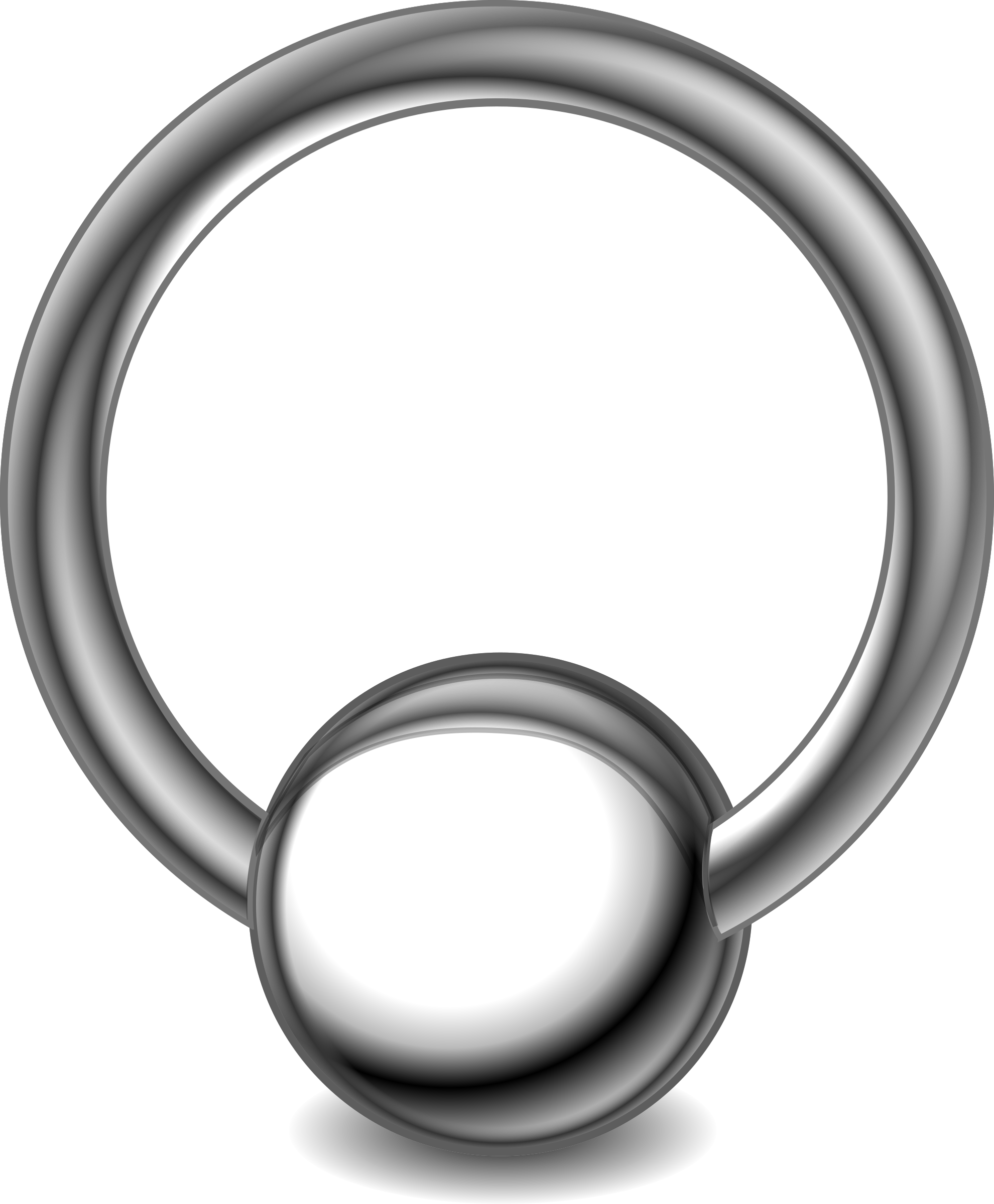 Nose piercing png. Ring icons free and