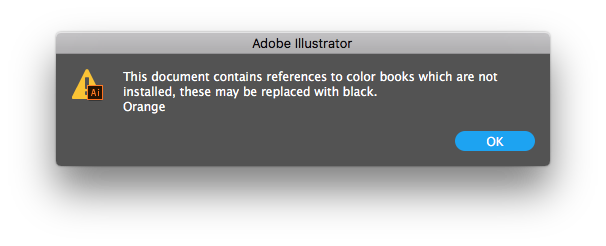 How to color a png file in illustrator. Adobe photoshop references missing