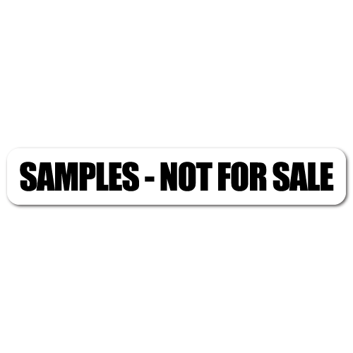 Not for sale png. Sample stickers