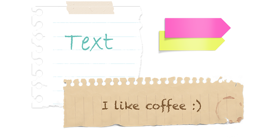 Note box png. Scrapnote textbox