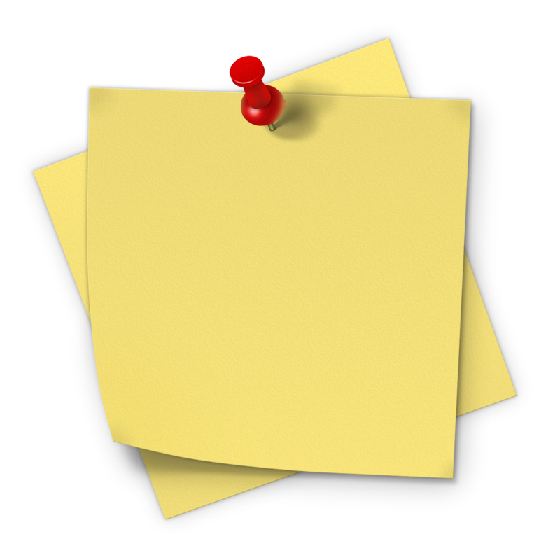 Note box png. Sticky