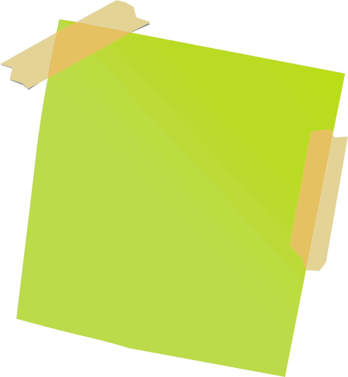 Note clipart file. Sticky notes transparent png