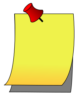 Note clipart file. Paper