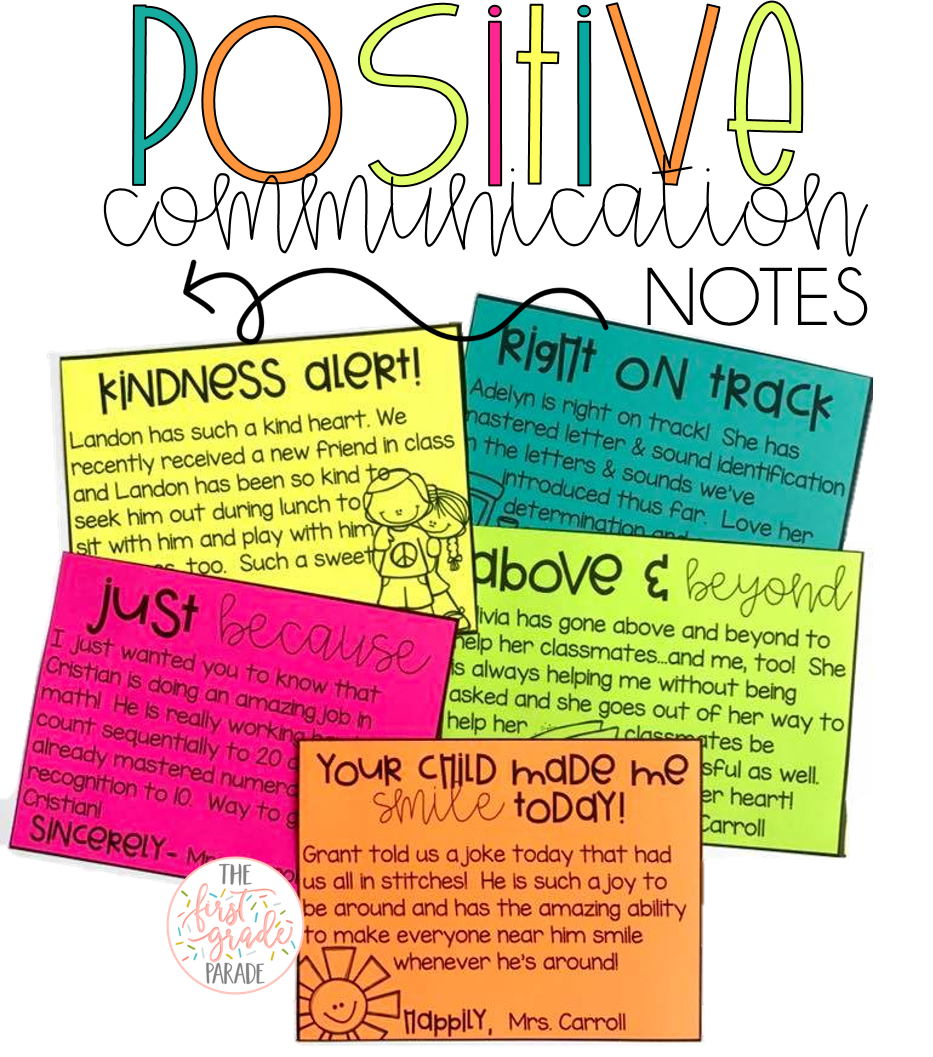 Note clipart positive note. Managing parent communication the
