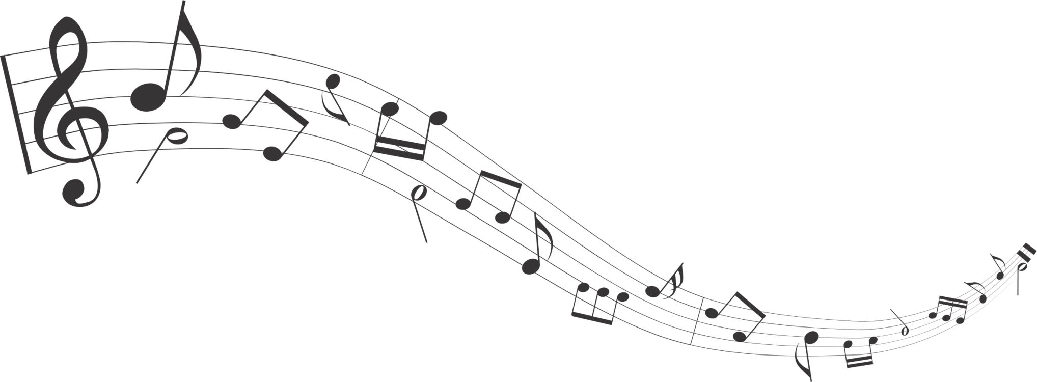 Note clipart music staff. Musical sheet notation free