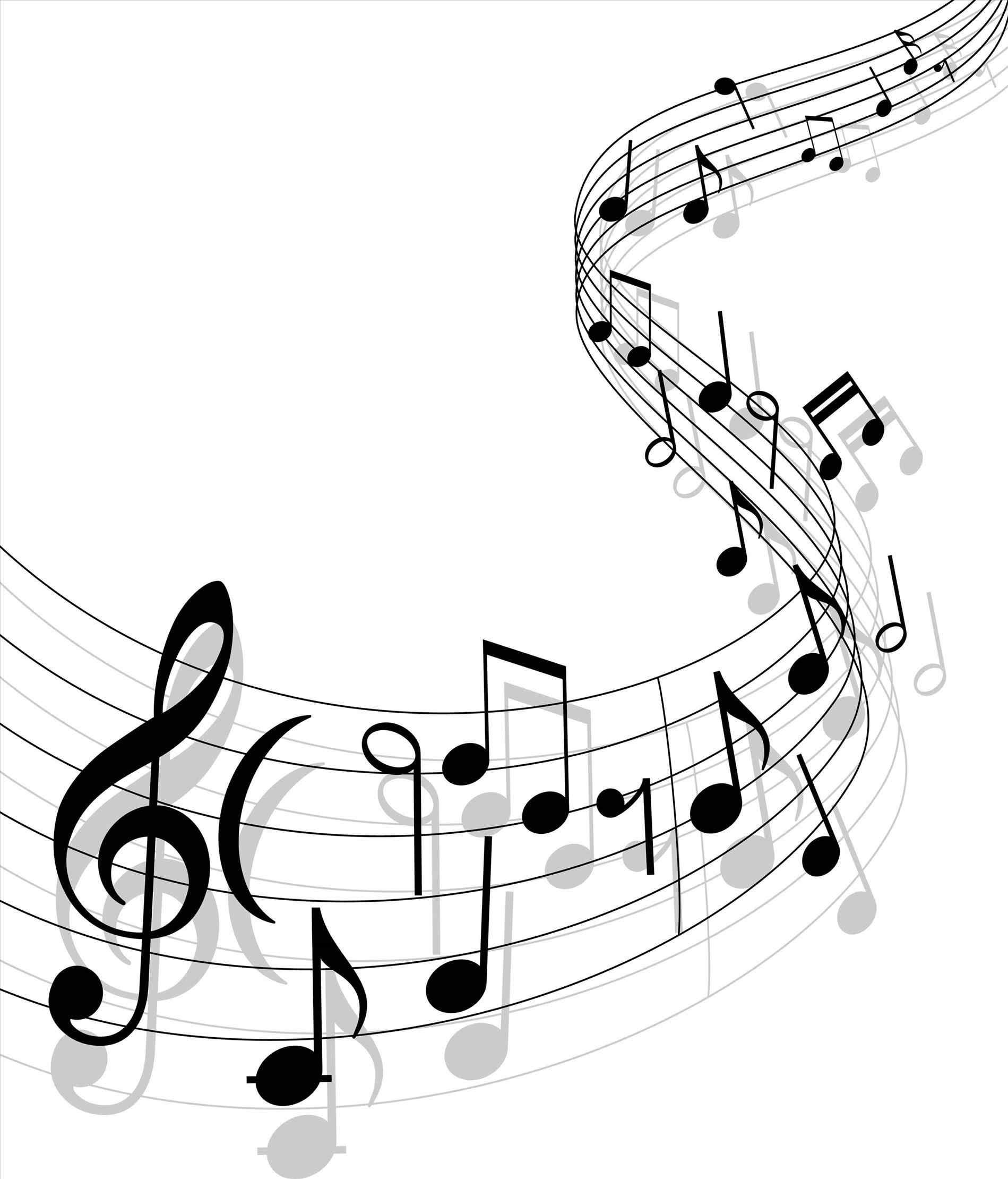Note clipart transparent background. Musical notes clear free