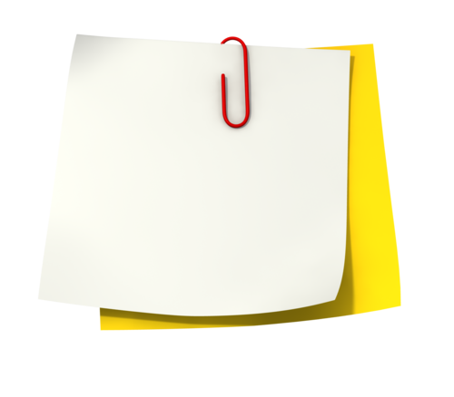 Paper note png