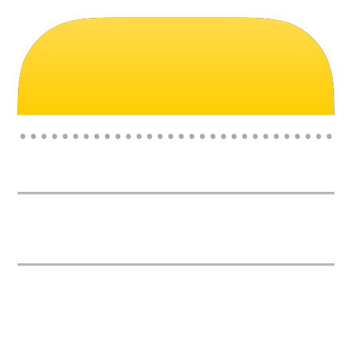 Note page png. Icons for free apple