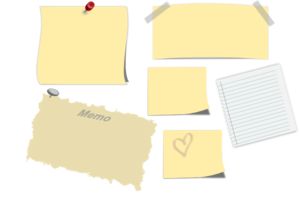 Note paper png. Notepaper clip art at