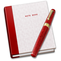 Notebook and pen png. Icon closed notes iconset