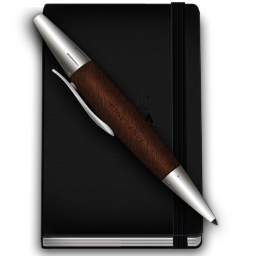 Notebook and pen png. Rhodia icon notebooks icons