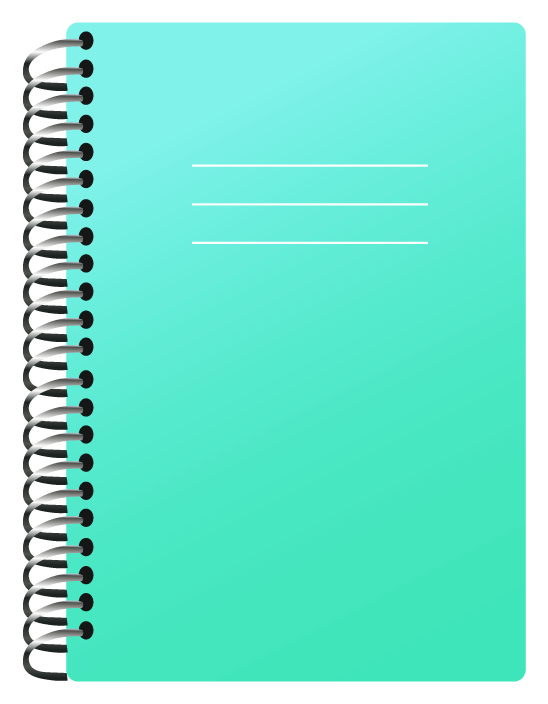 Notebook clip art png. School clipart picture gallery