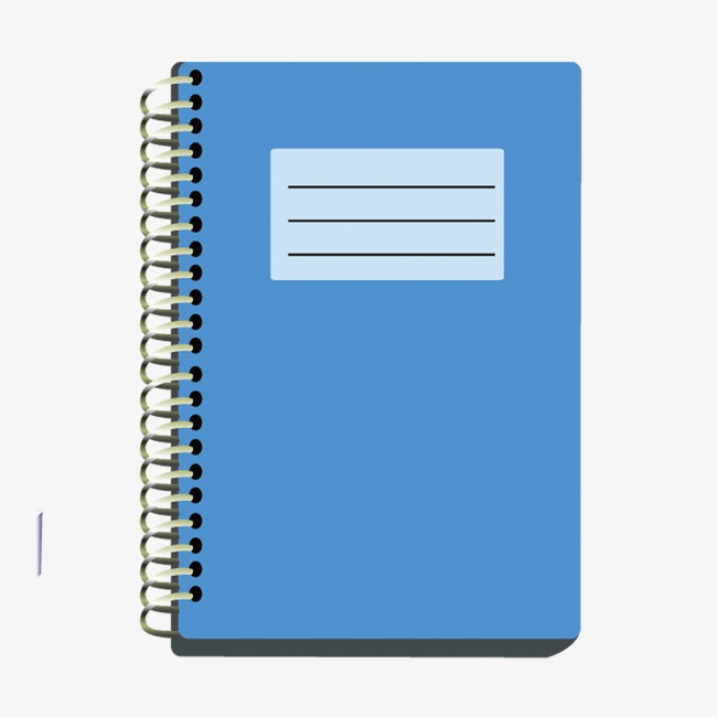 Notebook clipart blue notebook. Book png image and