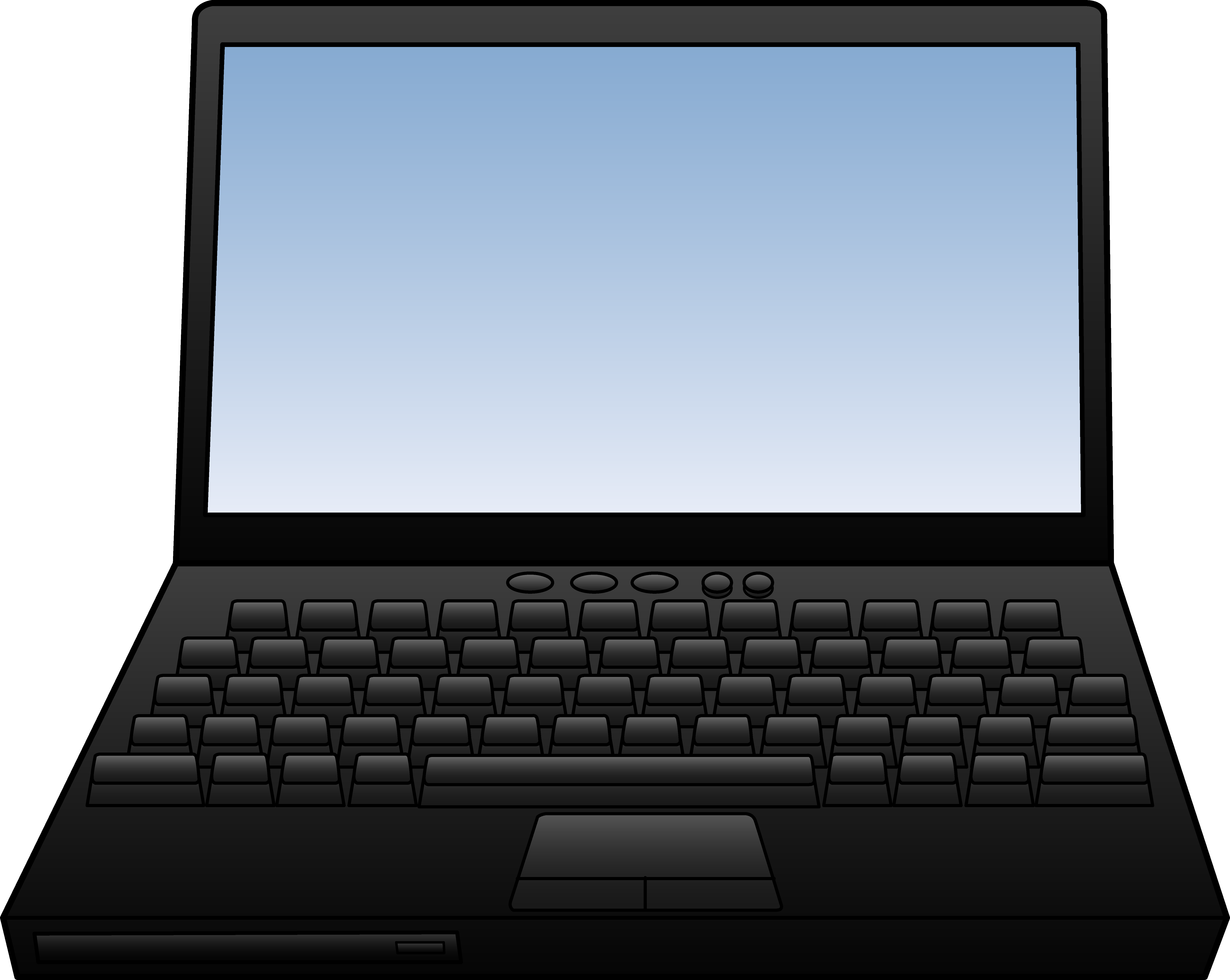 Computers clipart notebook. Laptop computer design free