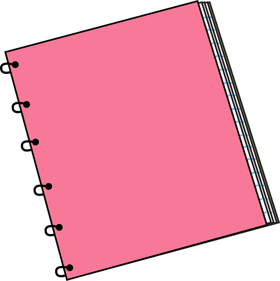 girly notebook png