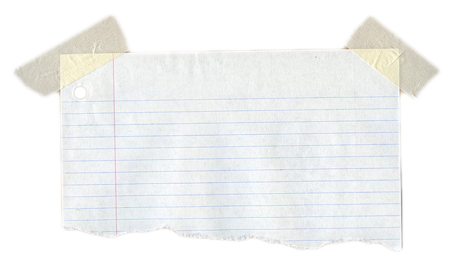 Notebook paper texture png. Free torn download clip