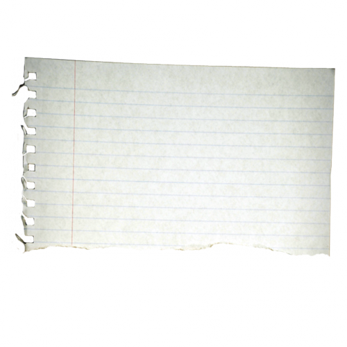 Notebook paper torn png. Polly s blog free
