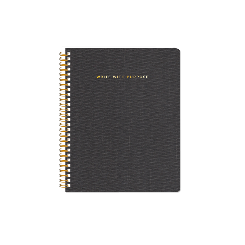 Spiral notebooks png. Notebook charcoal gray marie