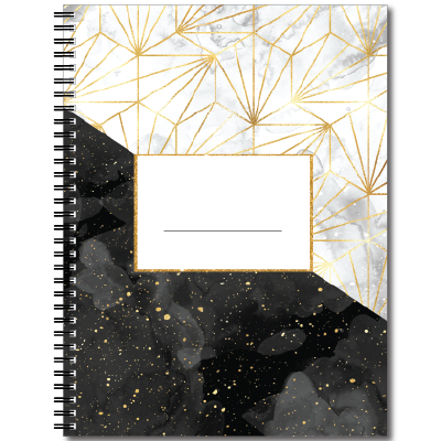 Notebook transparent marble. Amazon com specks of