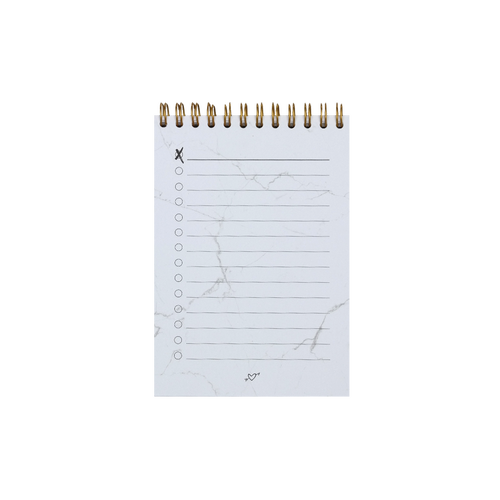 Notebook transparent marble. Real passionates online shop