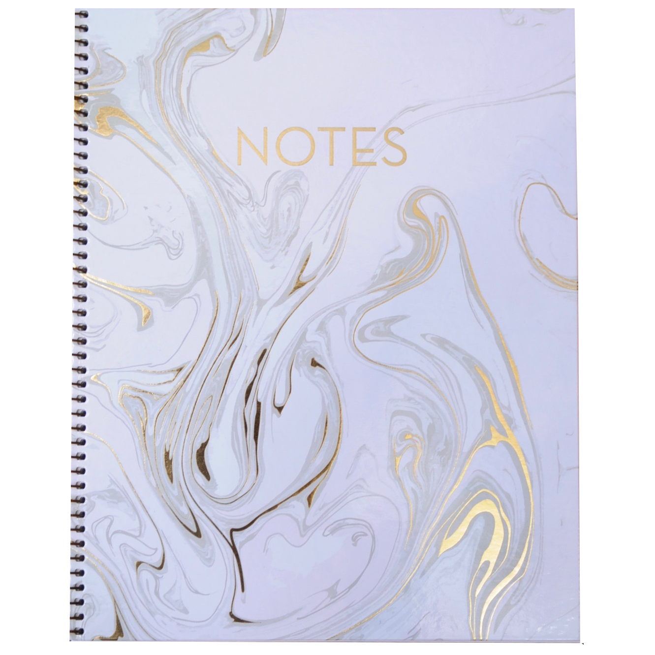 Notebook transparent marble. Blush x the ancient