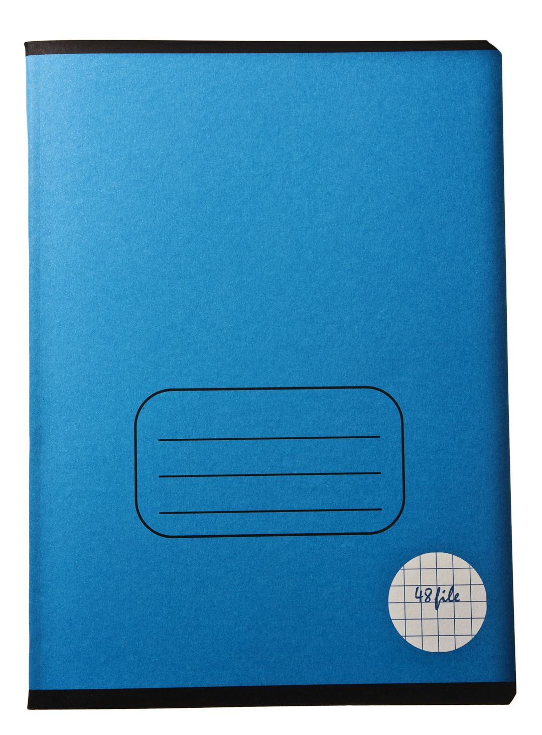 Notebook transparent blue. Paper backgrounds royalty free