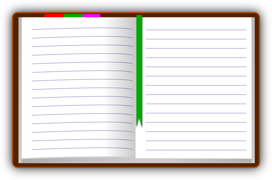 Notebook transparent open. Computer icons paper download