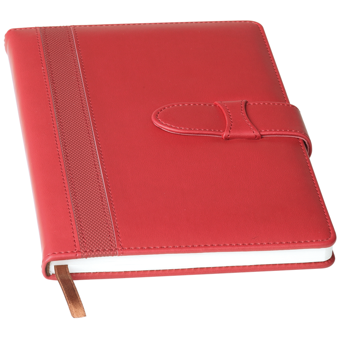Notebook transparent red. Monkey house promotions corporate