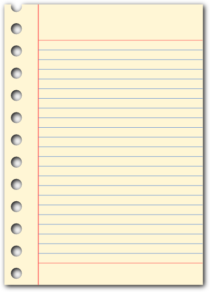 notepad vector png