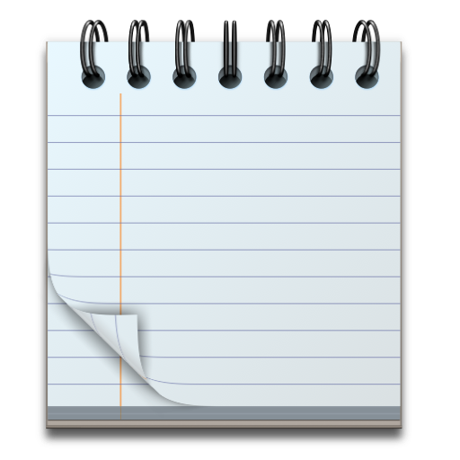 Notepad background png. Vector free icons and