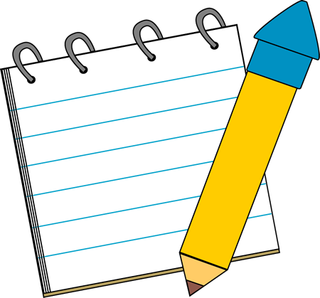 Pad clipart letter pad. Free notepad cliparts download