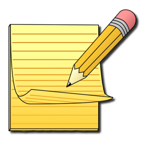 Writer clipart written note. Write now notepad apps