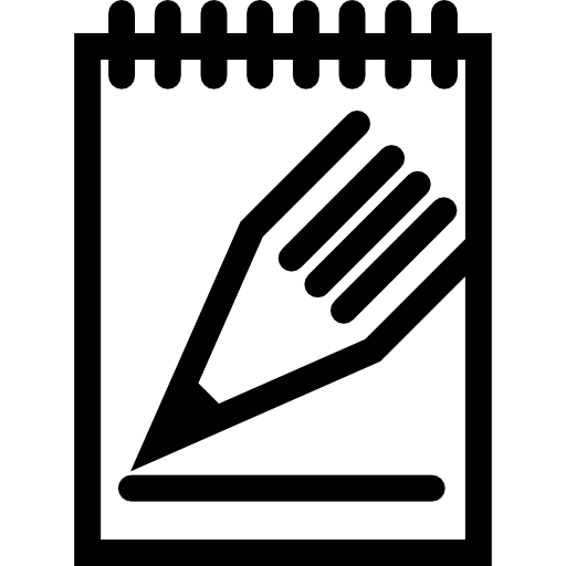 Notepad pin png. Pencil and icons free