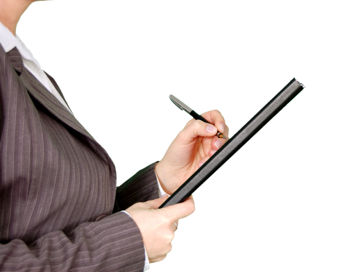 Note pad png. Women holding notepad image